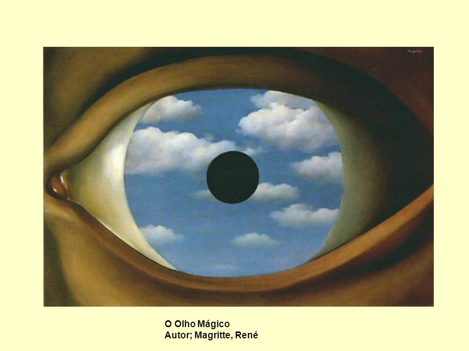 O Olho Mágico Autor; Magritte, René