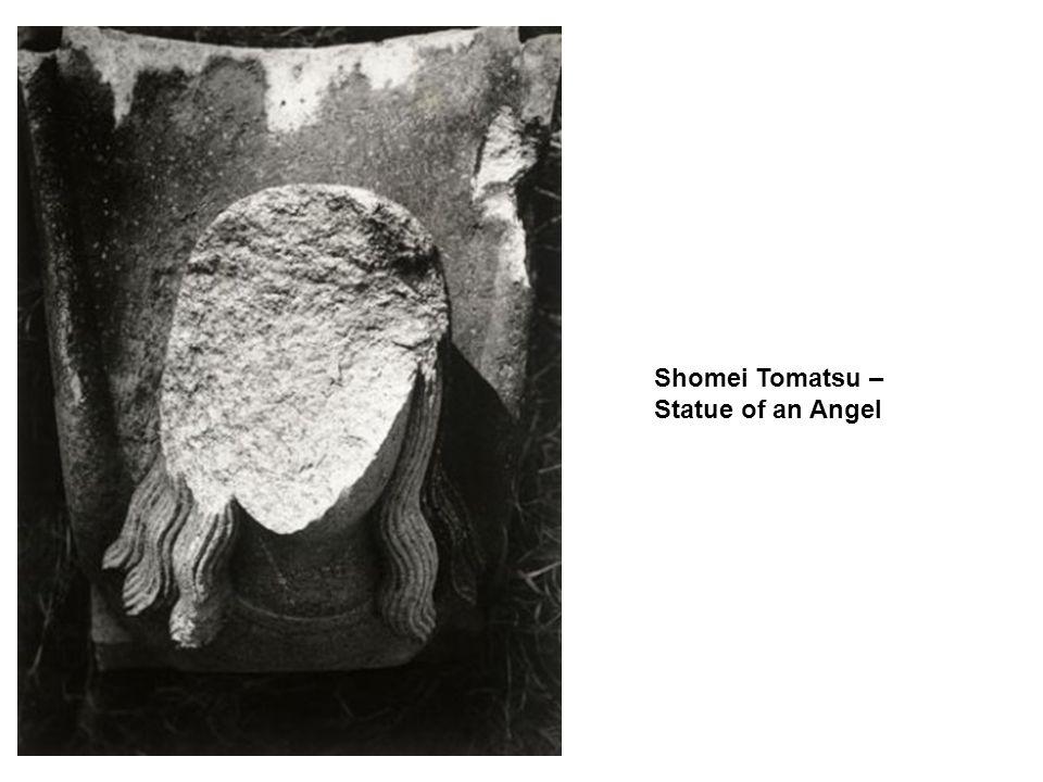 Shomei Tomatsu – Statue of an Angel
