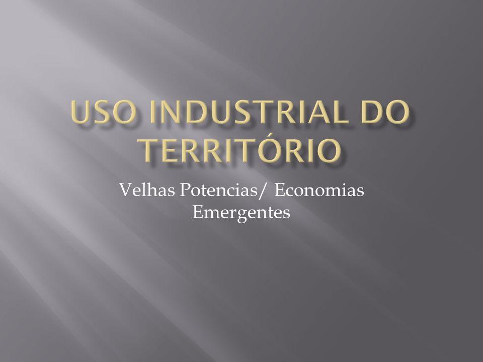 Velhas Potencias/ Economias Emergentes