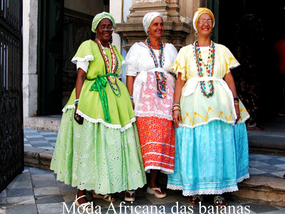 Moda Africana nas manifestações culturais: Tambor de Crioula.