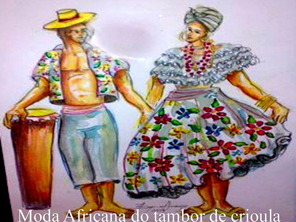 Moda Africana do tambor de crioula