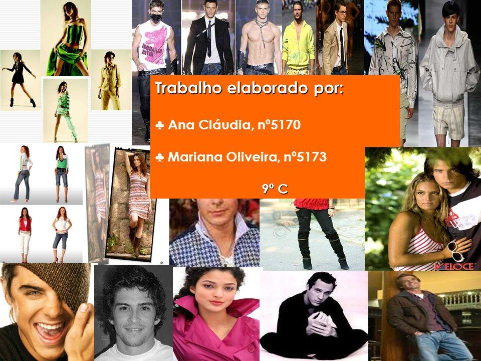 Trabalho elaborado por: Ana Cláudia, nº5170 Mariana Oliveira, nº5173 9º C
