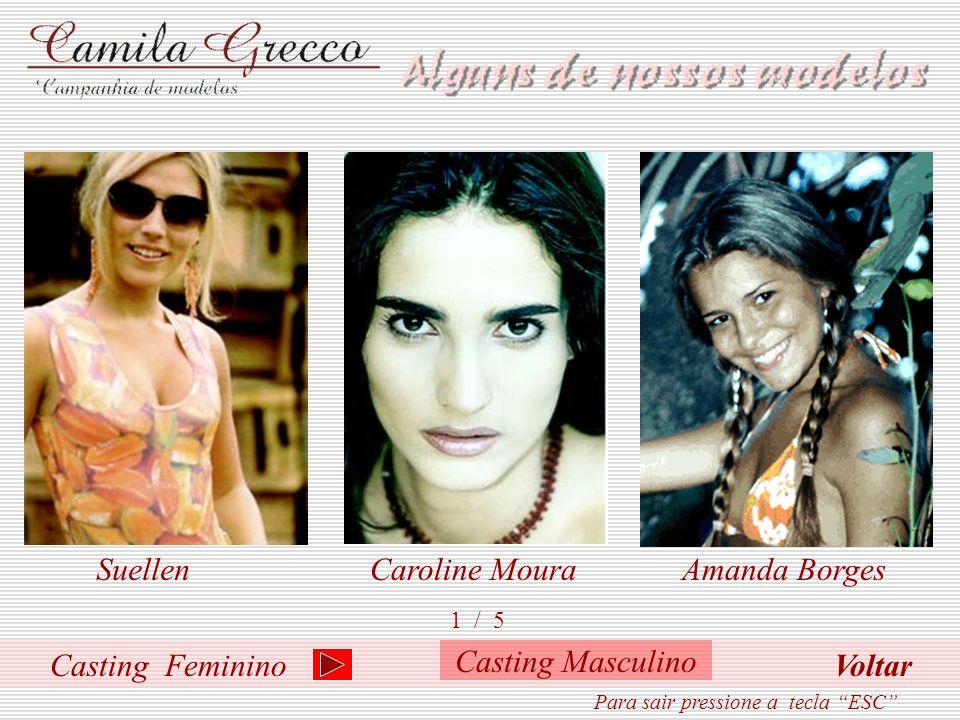 S abendo da importância de se preparar um modelo ou manequim para a carreira, Camila Grecco estruturou seu curso com aulas de andamento, postura, maqu