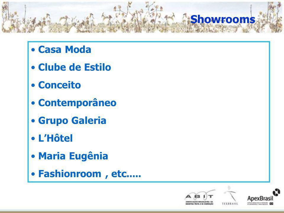 Showrooms Casa Moda Clube de Estilo Conceito Contemporâneo Grupo Galeria LHôtel Maria Eugênia Fashionroom, etc.....