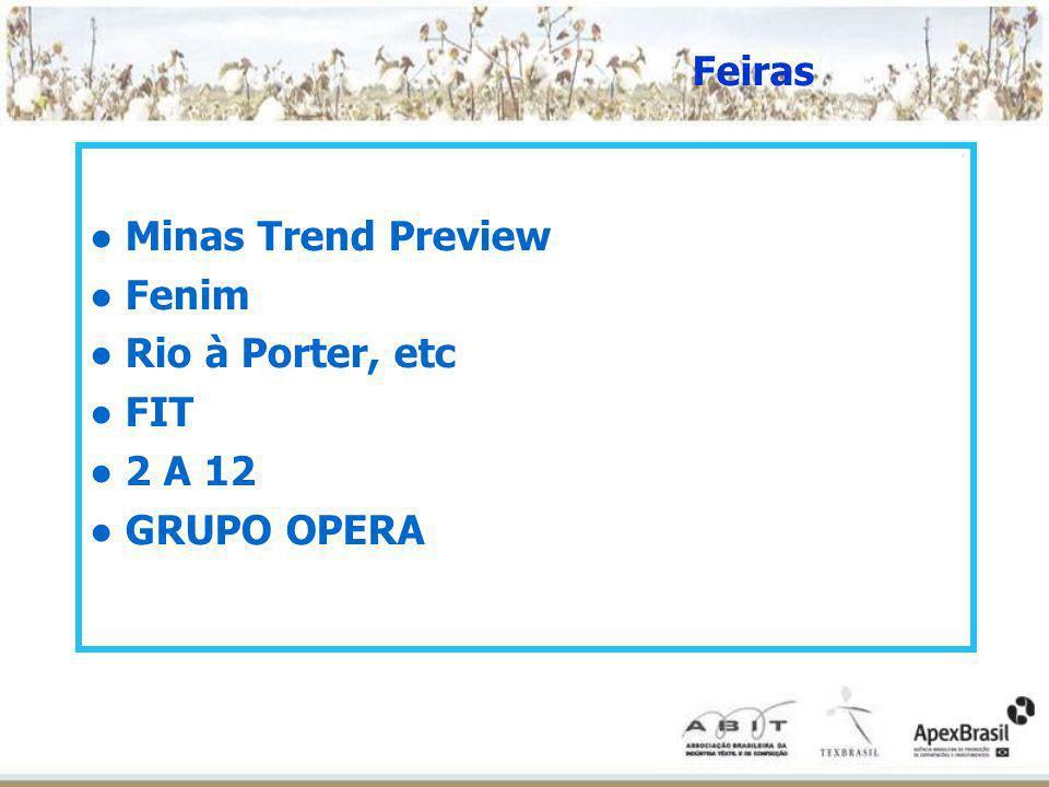 Minas Trend Preview Fenim Rio à Porter, etc FIT 2 A 12 GRUPO OPERA Feiras