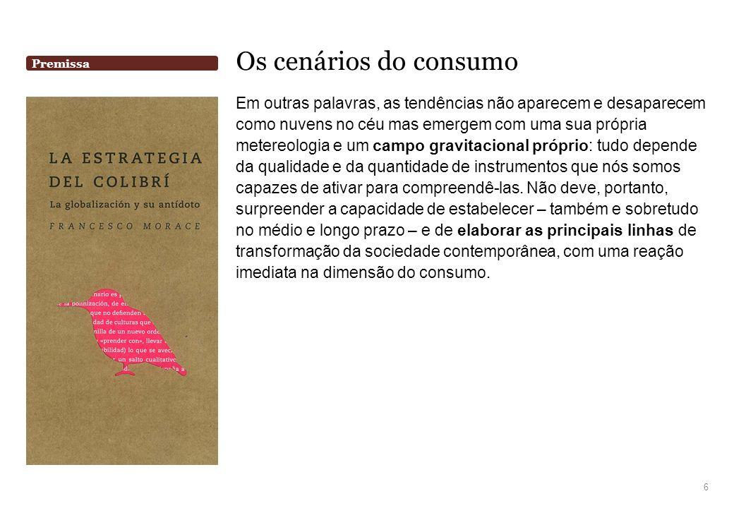 Design e Domesticidade Cenário Optimum Volume 27 Orientações Estratégicas Otimizar os recursos, o espaço e as funções dos móveis e dos objetos para a casa, experimentando novas tipologias de produto.