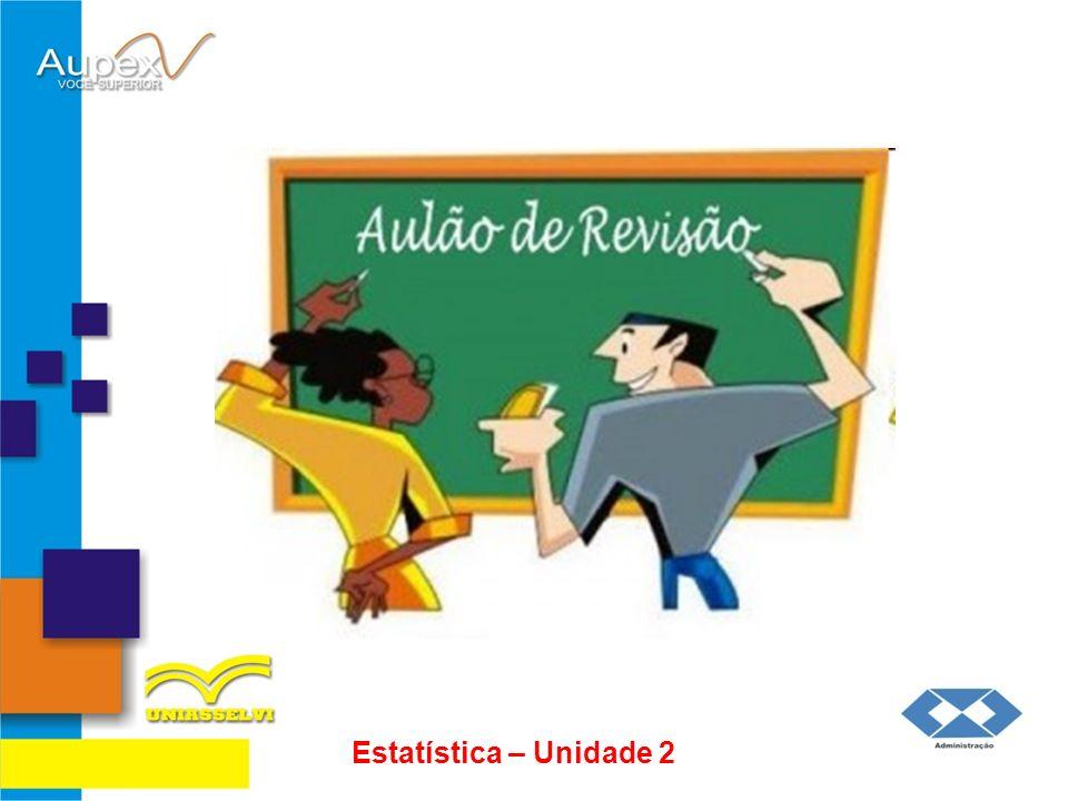 PRÓXIMA AULA: Estatística 3º Encontro da Disciplina 2ª Avaliação da Disciplina (10 questões sem consulta)