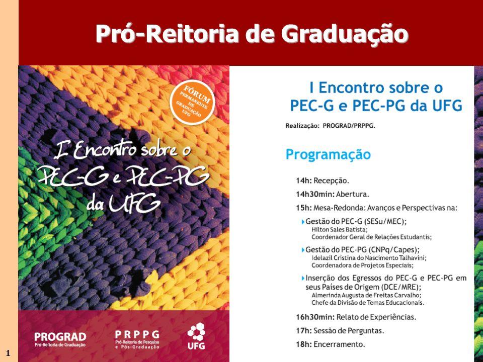 1 Pró-Reitoria de Graduação
