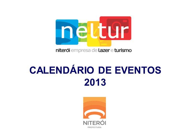 CALENDÁRIO DE EVENTOS 2013