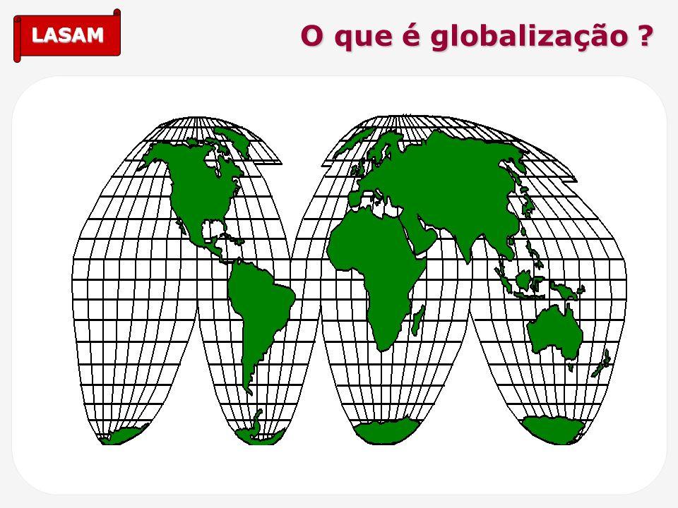 LASAM O que é globalização ?