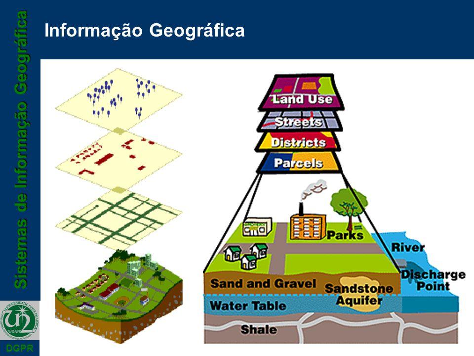 Sistemas de Informação Geográfica DGPR Informação Geográfica