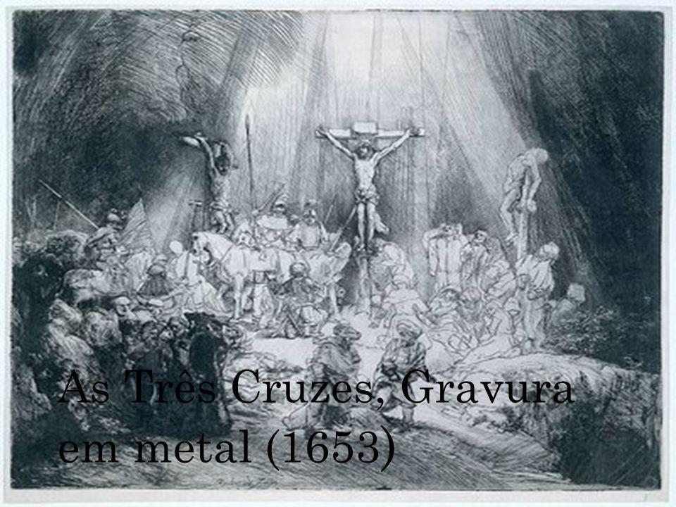 As Três Cruzes, Gravura em metal (1653 )
