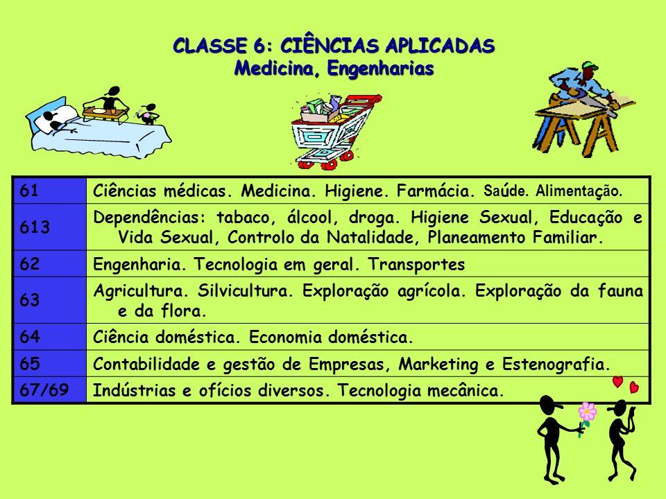 61Ciências médicas.Medicina. Higiene. Farmácia. Sa ú de.