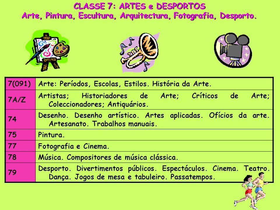 7(091)Arte: Períodos, Escolas, Estilos.História da Arte.