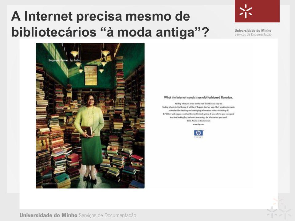 A Internet precisa mesmo de bibliotecários à moda antiga