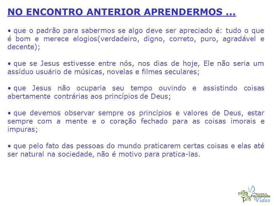 FAZENDO AS ESCOLHAS CERTAS (PARTE 03)