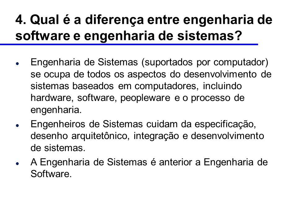5.O que é processo de software.