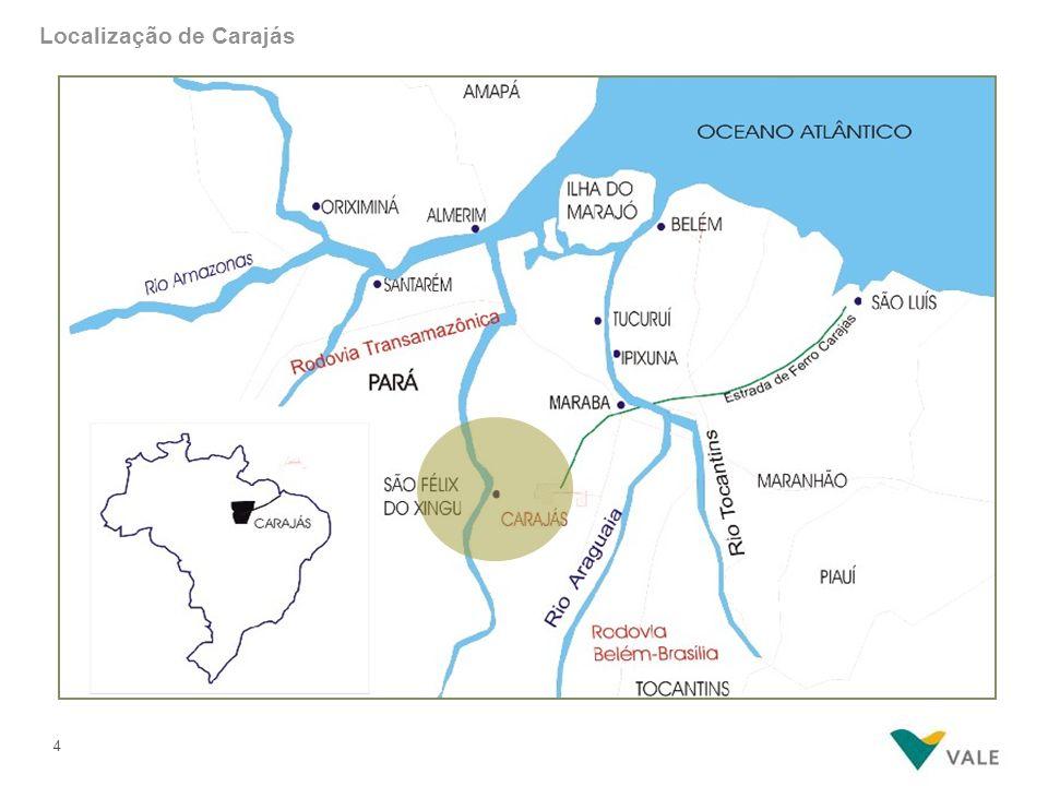 4 Localização de Carajás