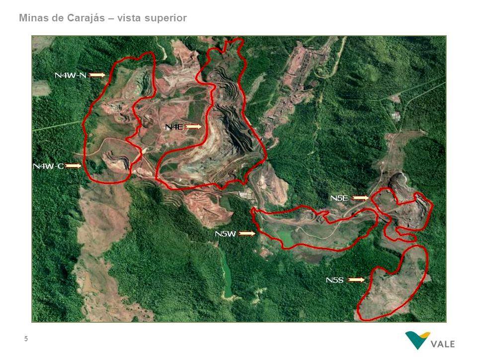 5 Minas de Carajás – vista superior