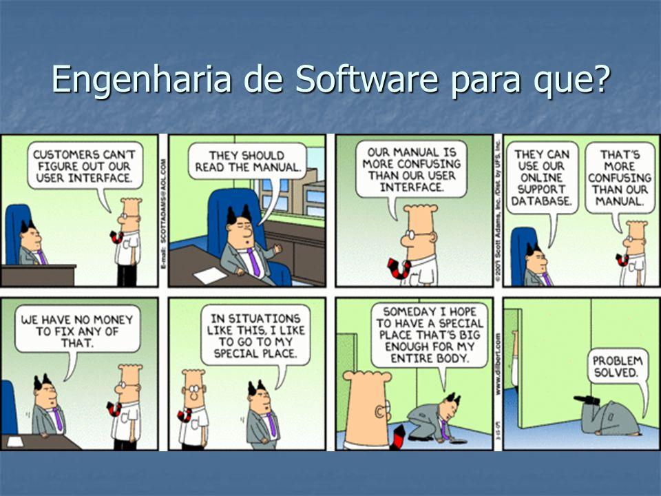 Engenharia de Software para que?