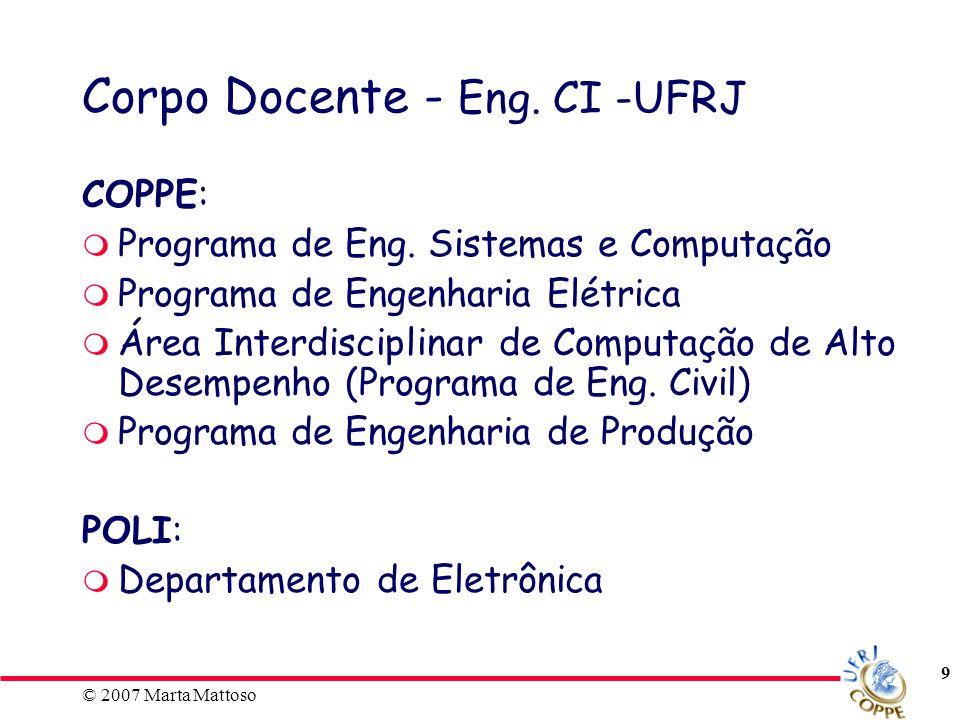 © 2007 Marta Mattoso 10 Grade Curricular - Eng.