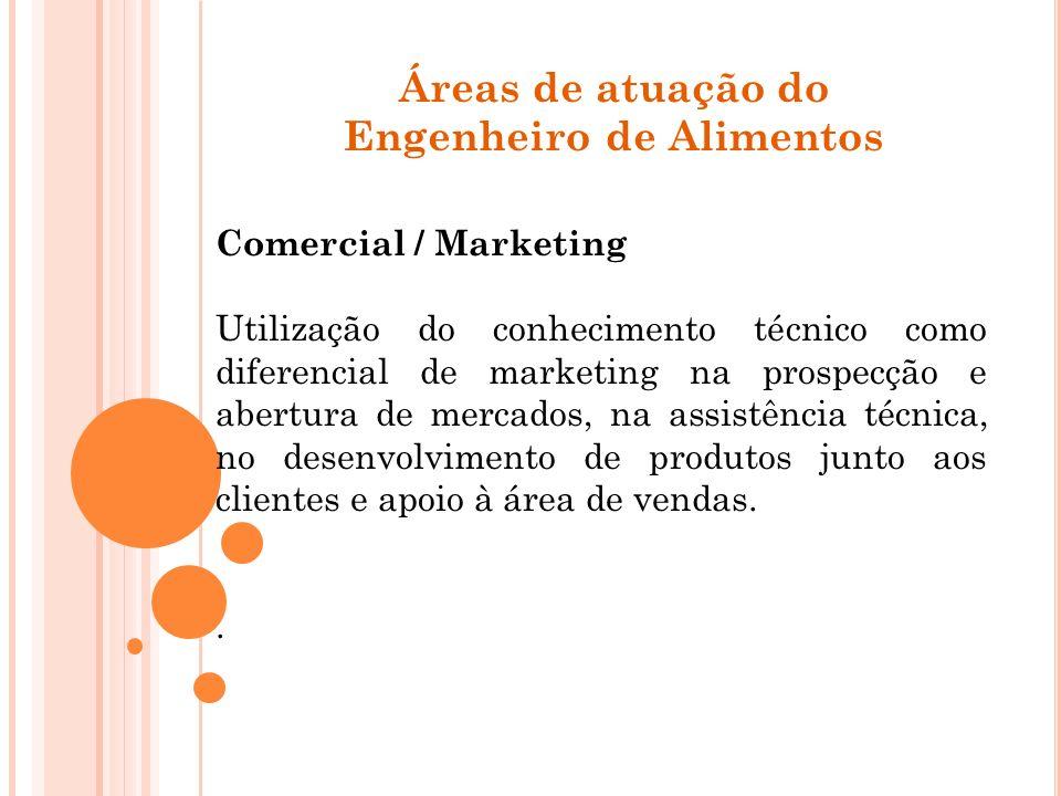 Comercial / Marketing Utilização do conhecimento técnico como diferencial de marketing na prospecção e abertura de mercados, na assistência técnica, n