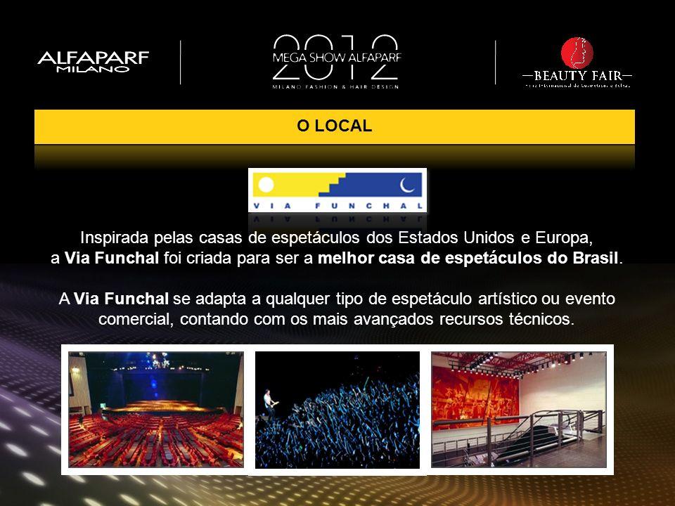 Inspirada pelas casas de espetáculos dos Estados Unidos e Europa, a Via Funchal foi criada para ser a melhor casa de espetáculos do Brasil. A Via Func