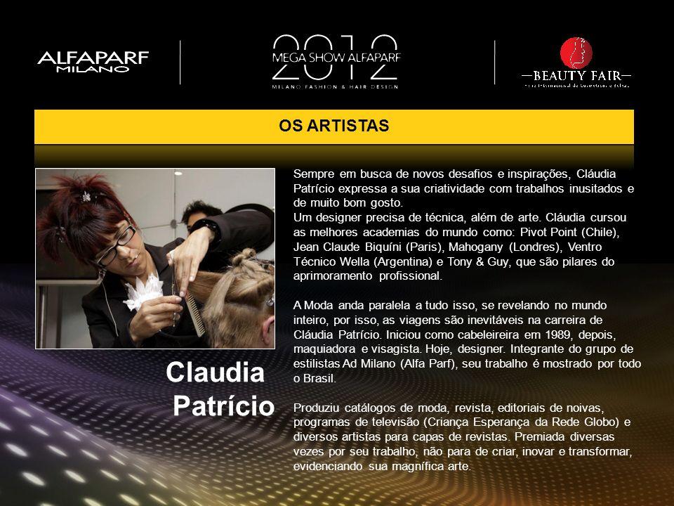 Sempre em busca de novos desafios e inspirações, Cláudia Patrício expressa a sua criatividade com trabalhos inusitados e de muito bom gosto. Um design