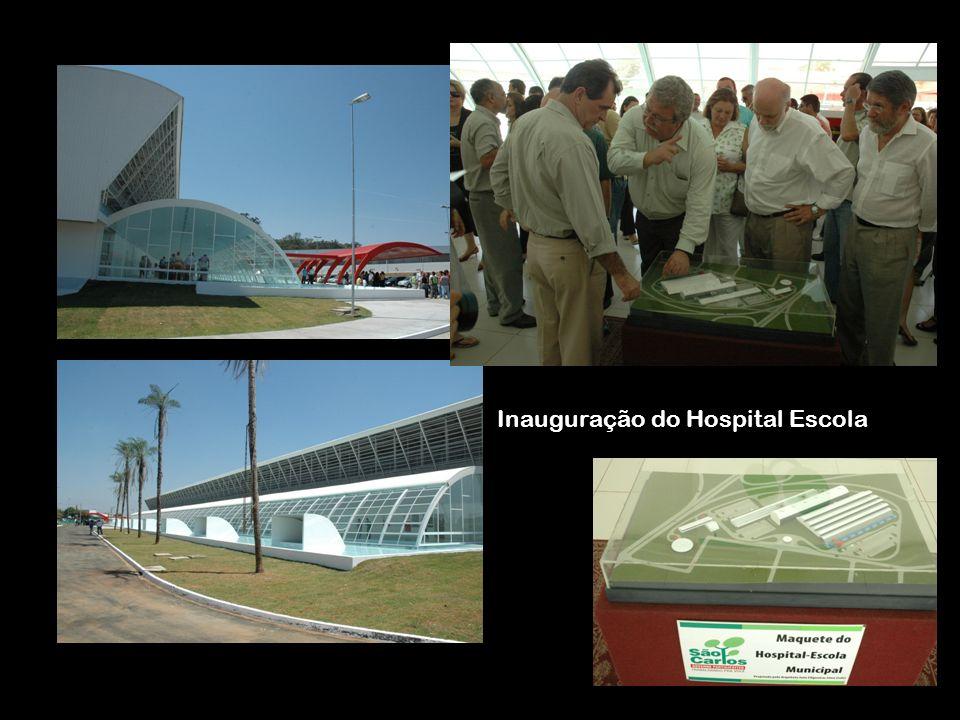 Inauguração do Hospital Escola