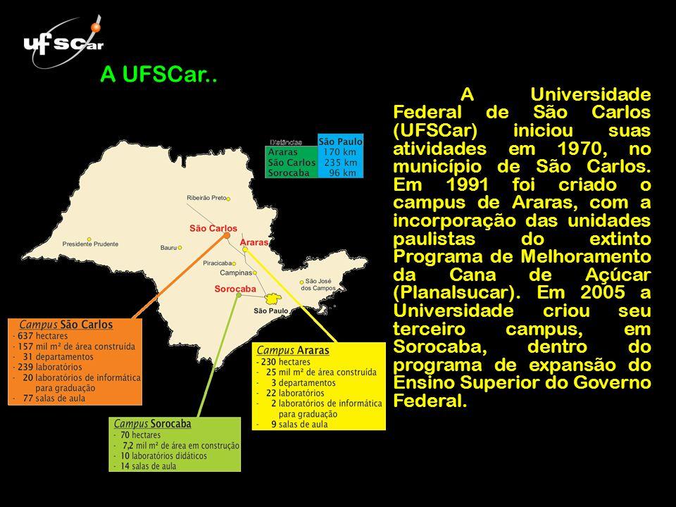 A Universidade Federal de São Carlos (UFSCar) iniciou suas atividades em 1970, no município de São Carlos. Em 1991 foi criado o campus de Araras, com