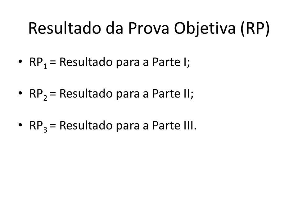 Desclassificação do Candidato Será desclassificado o candidato que se enquadrar em pelo menos um dos critérios a seguir: faltar a qualquer um dos dias de provas; RP 1 0; RP 2 0; RP 3 0;