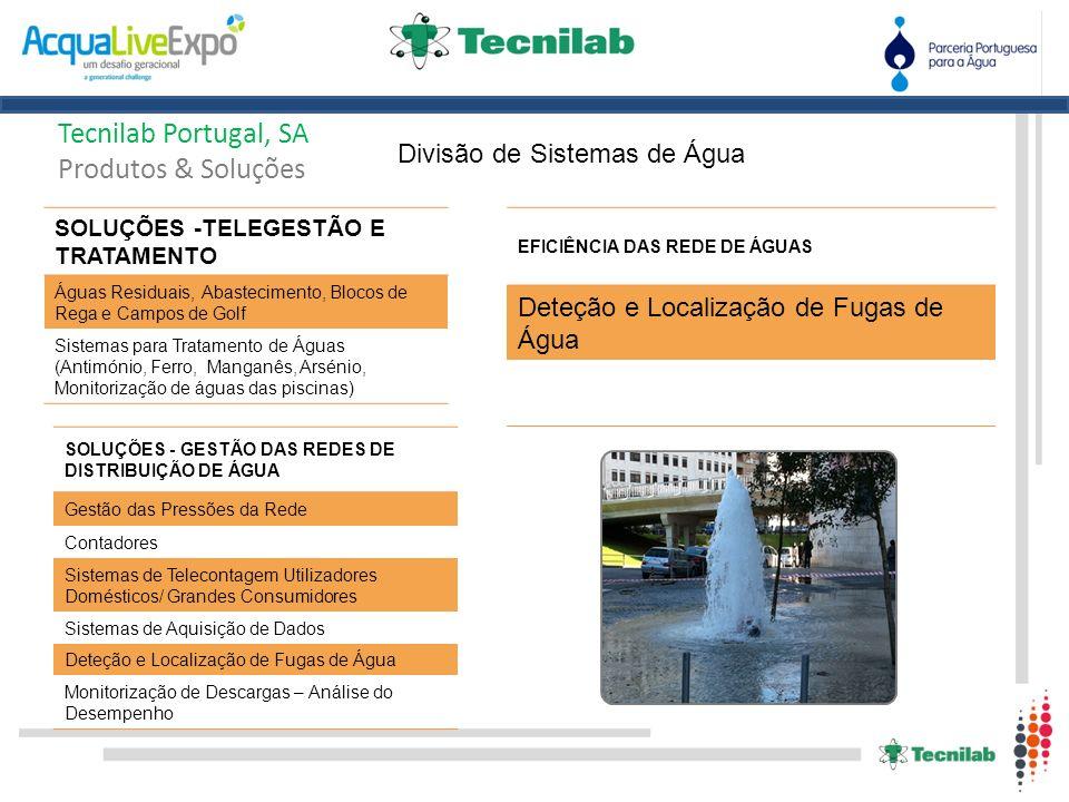 Tecnilab Portugal, SA Produtos & Soluções Divisão Válvulas – Produto FLUCON Banco de Ensaios FÁBRICA VALCON Válvulas Automáticas de Controlo Fabrica na Covilhã