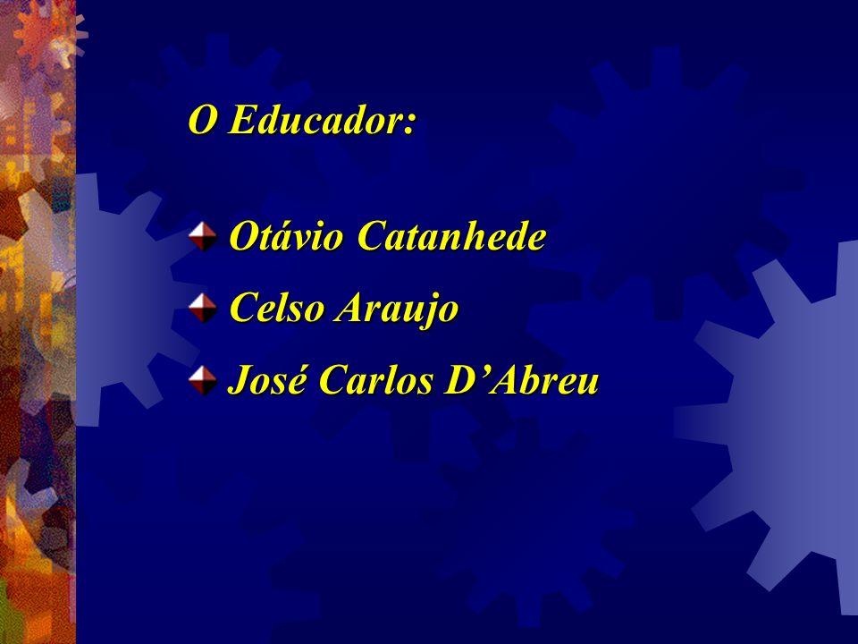 O Educador: Otávio Catanhede Otávio Catanhede Celso Araujo Celso Araujo José Carlos DAbreu José Carlos DAbreu