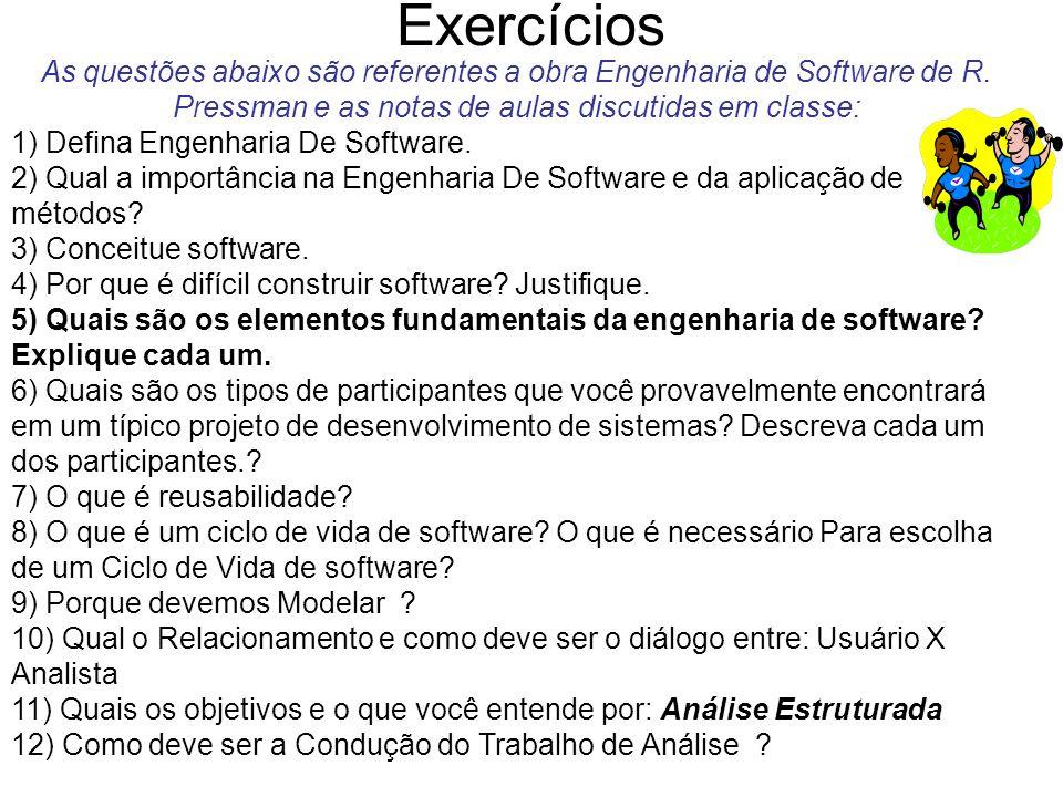 Diálogo Usuário X Analista O diálogo usuário/analista dever ser: - Iterativo - Lógico - Limitado