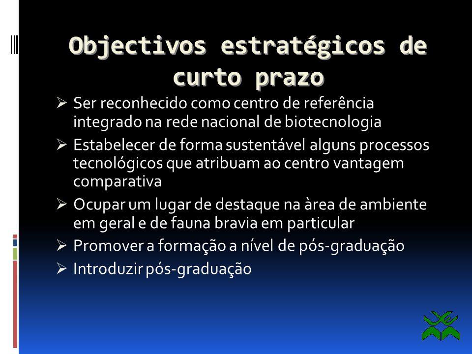 A estratégia de pesquisa e a ligação com o mercado Quanto aos objectos de investigação, o posicionamento estratégico do centro é o de desenvolver linh