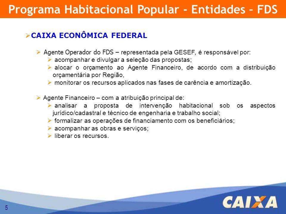 6 AGENTE FOMENTADOR / FACILITADOR Tem por atribuição o apoio à participação das famílias no programa, inclusive com aporte complementar de recursos financeiros e/ou bens e/ou serviços economicamente mensuráveis.