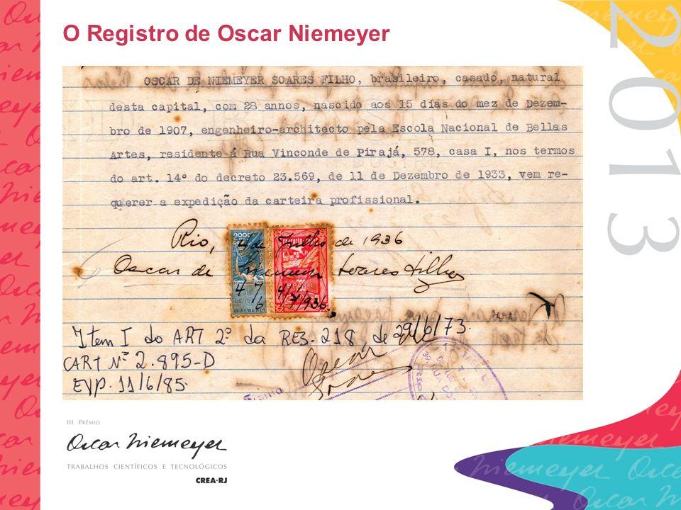 O Registro de Oscar Niemeyer
