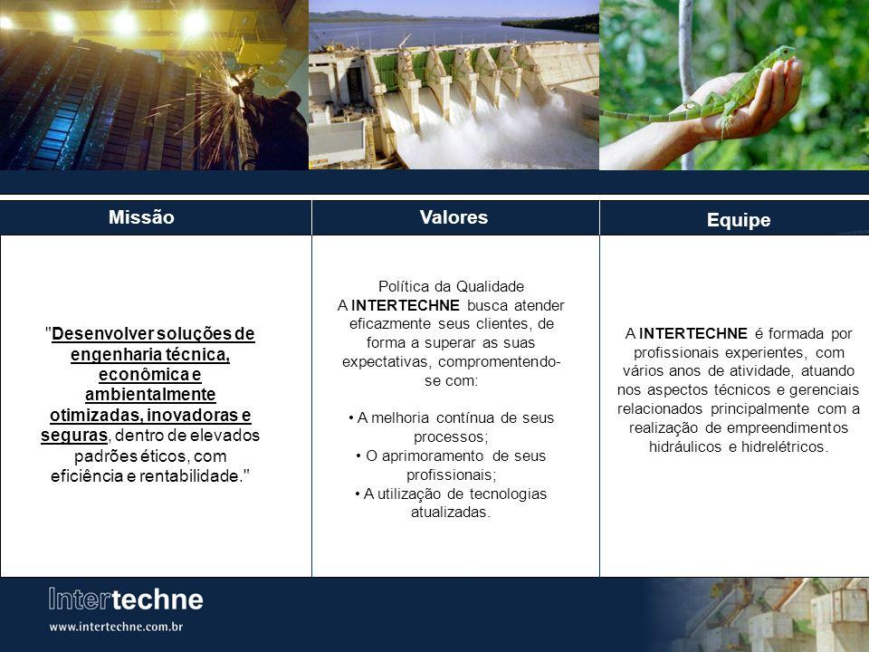 PCH SÃO PEDRO São Pedro: Túnel de Adução Localização: Rio Jacu Braço Norte, Estado do Espirito Santo Potência: 30 MW Serviços Prestados: Projeto Básico e Executivo