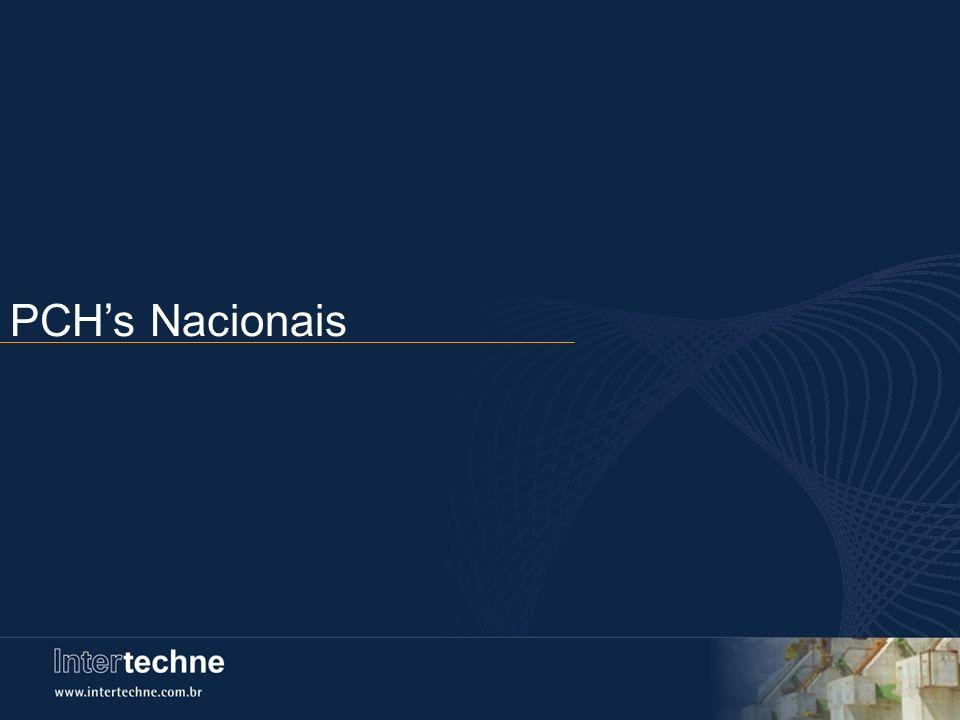 PCHs Nacionais