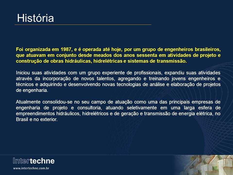 História Foi organizada em 1987, e é operada até hoje, por um grupo de engenheiros brasileiros, que atuavam em conjunto desde meados dos anos sessenta