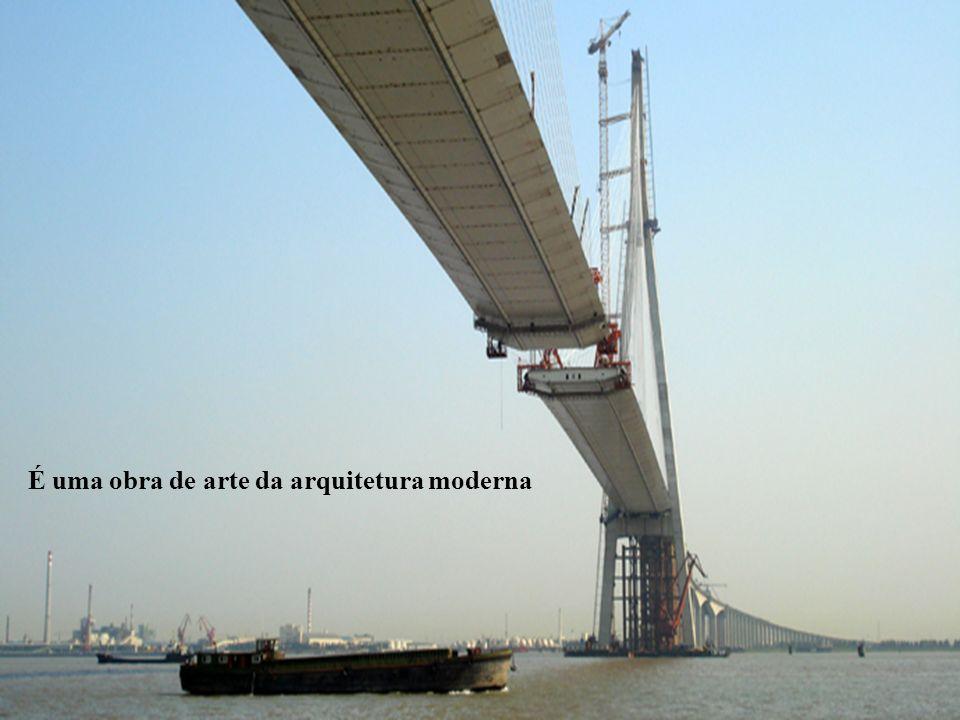 4/43 A ponte transoceânica da Baía de Hangzhou, na China