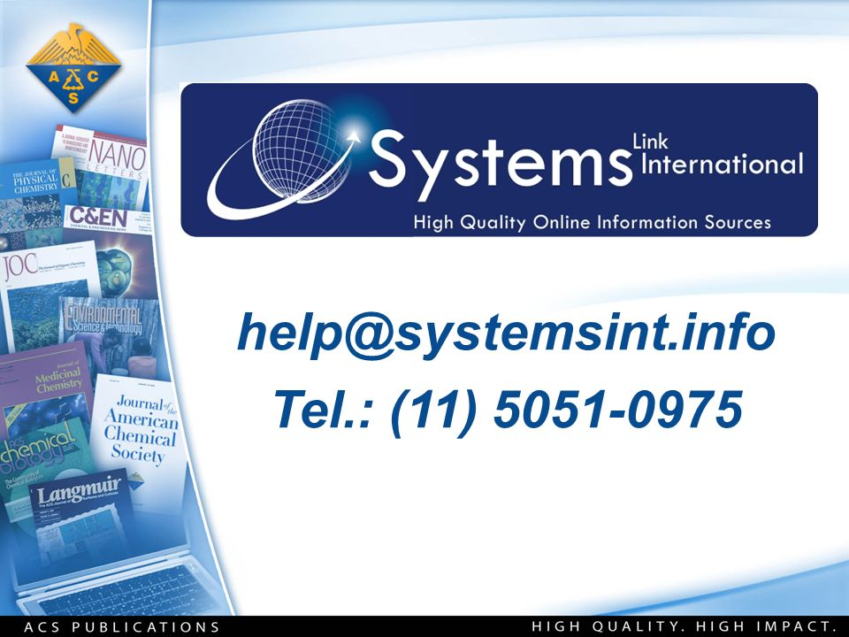 help@systemsint.info Tel.: (11) 5051-0975