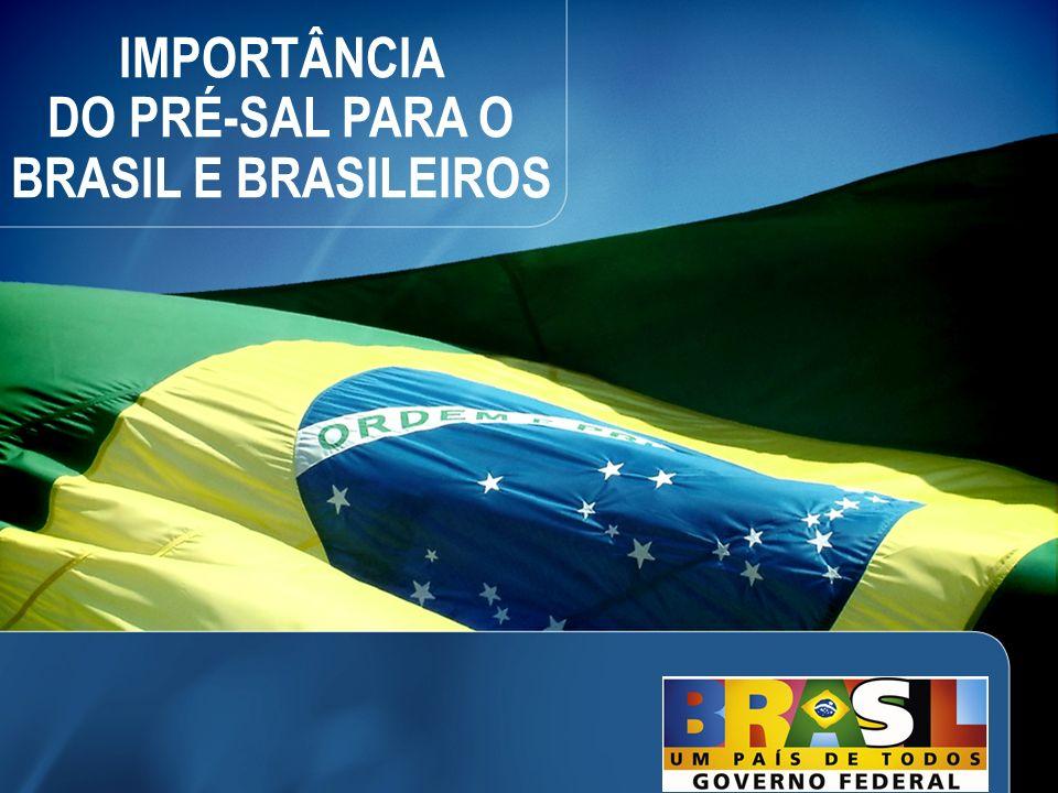 22 IMPORTÂNCIA DO PRÉ-SAL PARA O BRASIL E BRASILEIROS