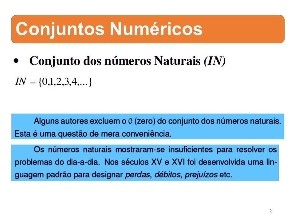 Conjuntos Numéricos 2