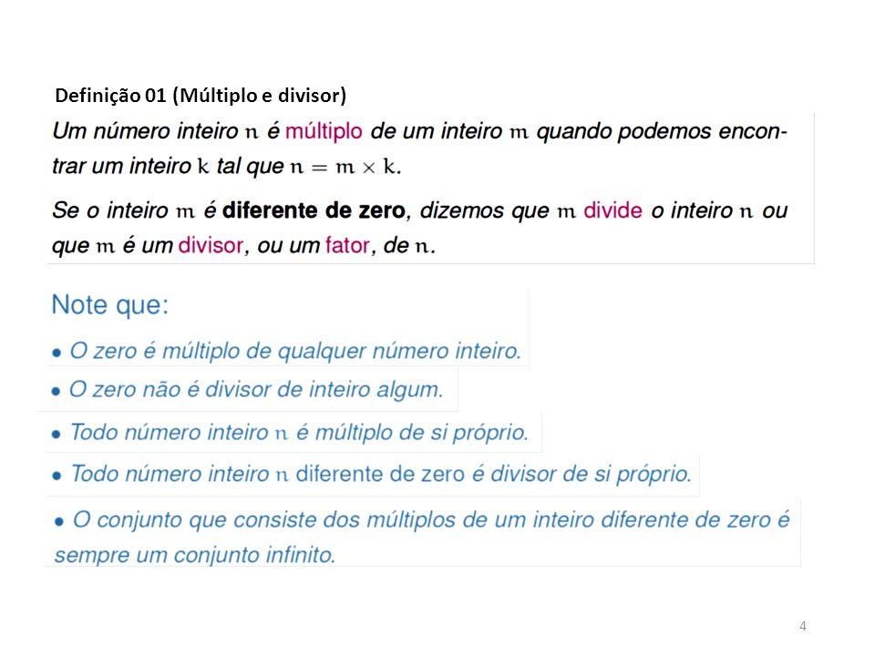 4 Definição 01 (Múltiplo e divisor)