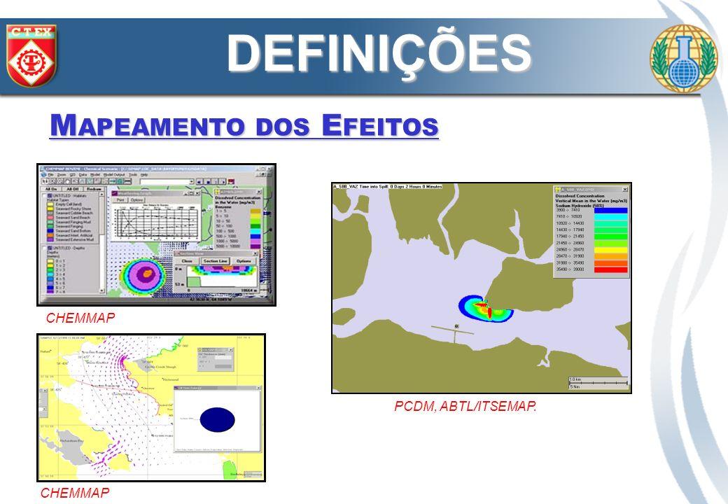 CHEMMAP PCDM, ABTL/ITSEMAP. DEFINIÇÕES M APEAMENTO DOS E FEITOS