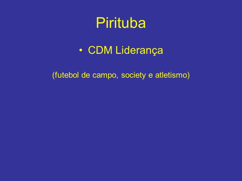 Pirituba CDM Liderança (futebol de campo, society e atletismo)
