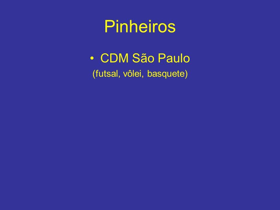 Pinheiros CDM São Paulo (futsal, vôlei, basquete)