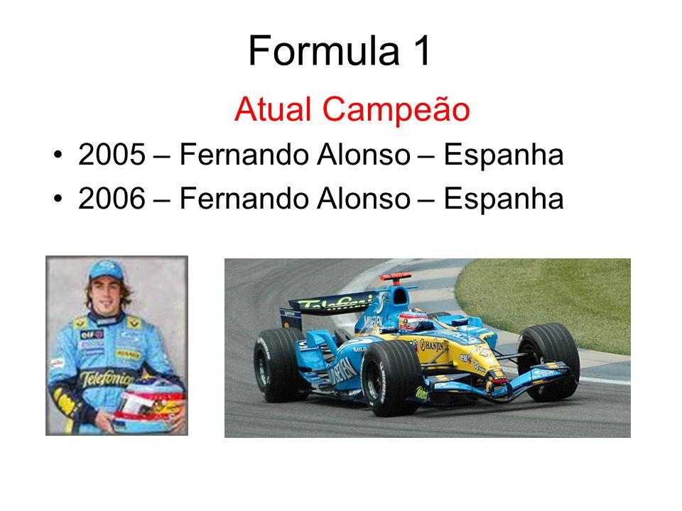 Lewis Hamilton – Britânico Revelação do Ano Formula 1