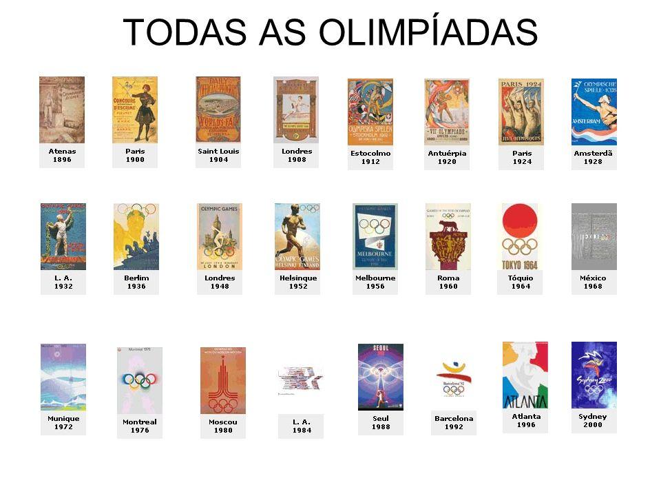 MEDALHAS OLÍMPICAS DO BRASIL O Brasil ocupa o 38º lugar no quadro geral de medalhas de todas as olimpíadas, totalizando 66, sendo: 12 de ouro; 19 de prata e 35 de bronze.